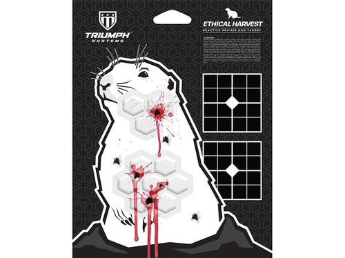 Triumph Systems Ethical Harvest Prairie Dog Reactive Targets 3-Pack?>