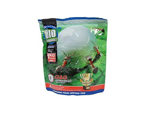 G&G 0.28g Premium BIODEGRADABLE Grade BBs 3500 Rounds 1kg bag?>