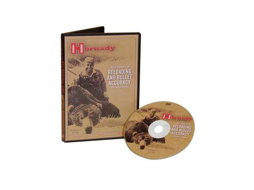 Hornady Joyce Hornady on Reloading and Bullet Accuracy DVD?>