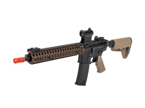EMG Colt Licensed M4 SOPMOD Block 2 Airsoft AEG Rifle with Daniel Defense Rail System Black?>