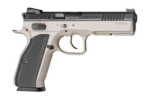 REFURBISHED CZ Shadow 2 9mm Urban Grey with Black Aluminum Grips?>